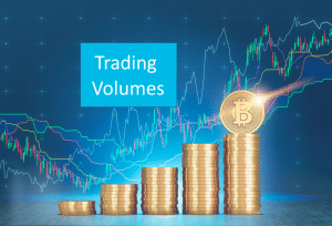 Crypto trading sites and trading volumes feature image