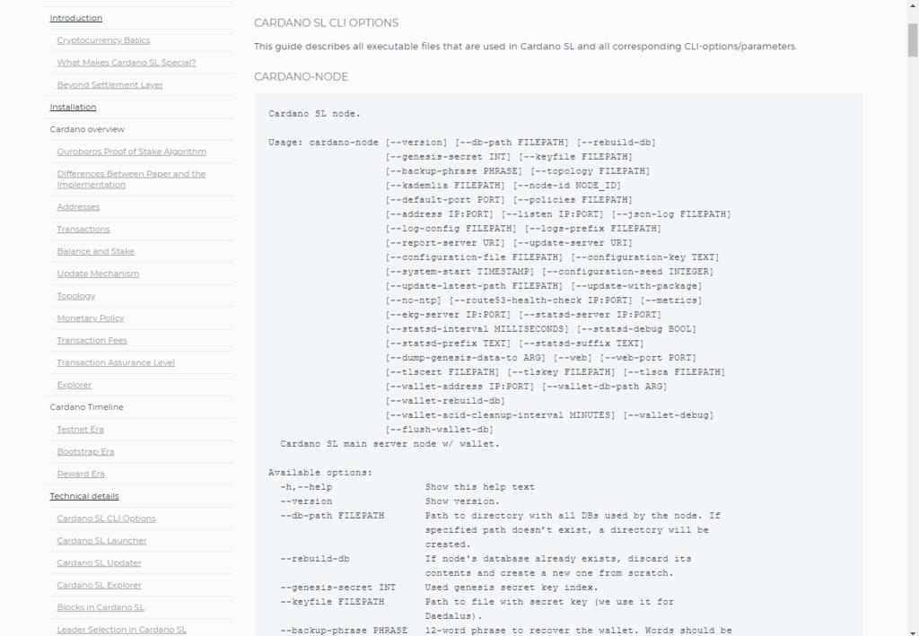 cardano trading github API print screen