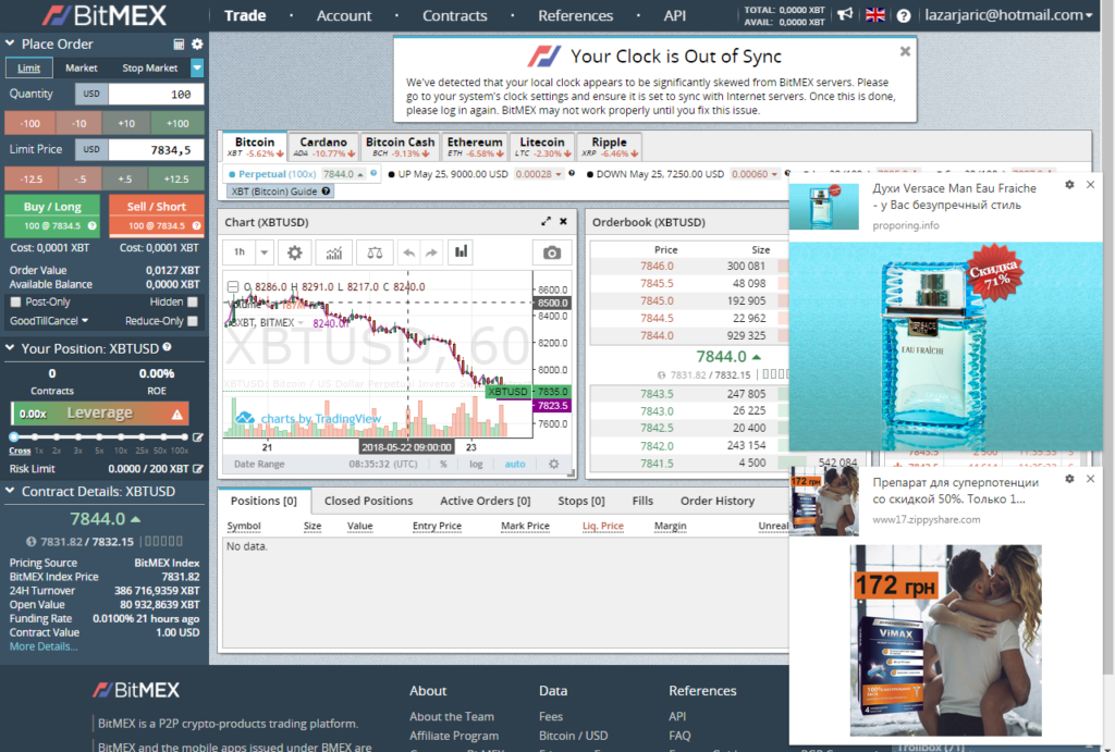 crypto trading instruments bitmex screen