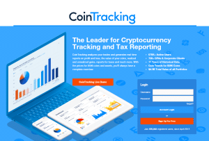 how to report and pay crypto taxes with cointracking