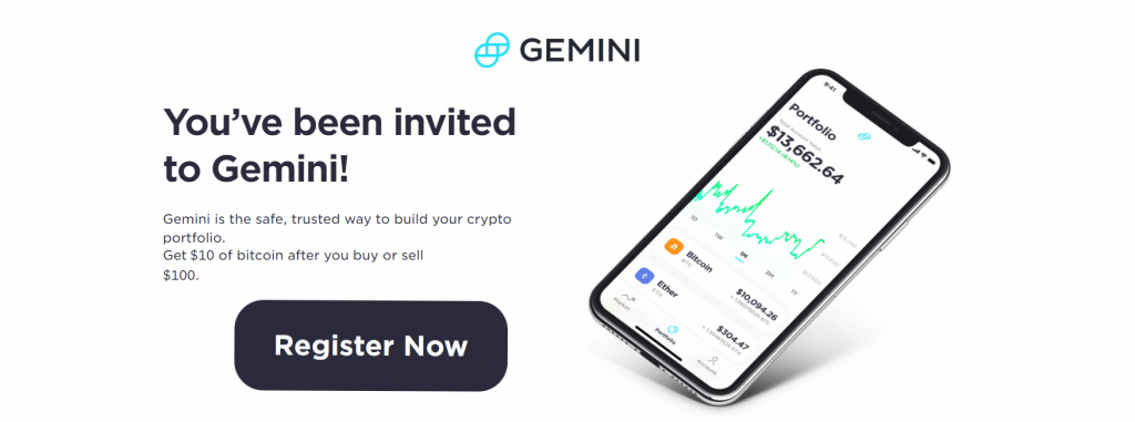 Gemini referral link