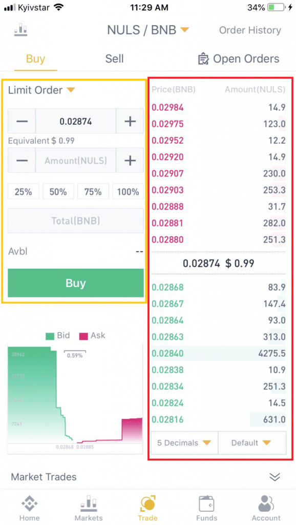 Review Binance IOS and Android App: Download and Trade