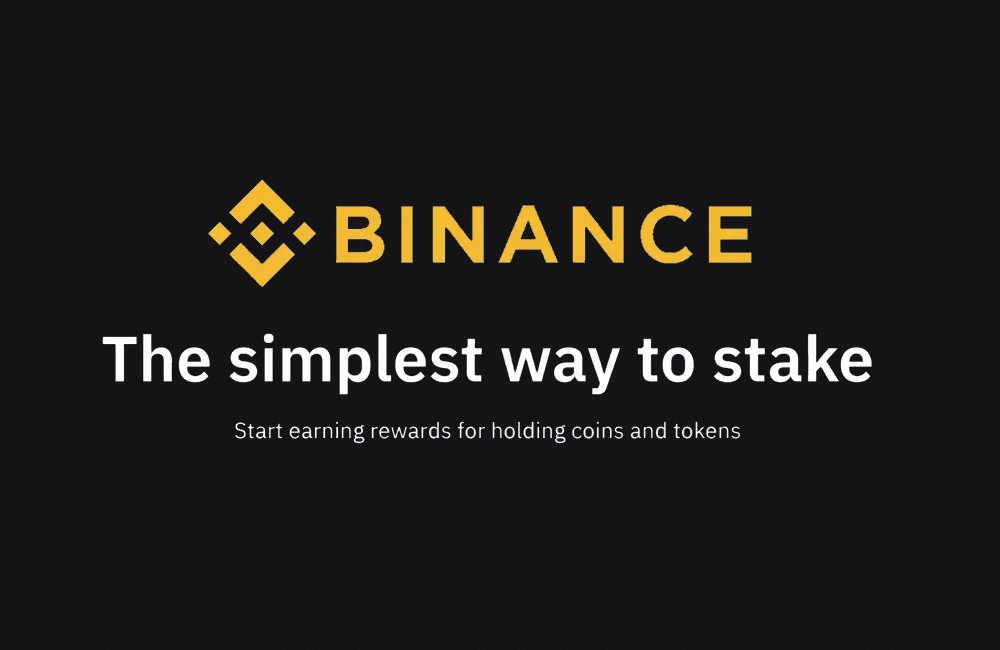 Binance staking with locked staking, flexible staking and defi staking feature image