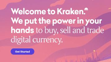 Kraken logo Top Bitcoin Trading Site